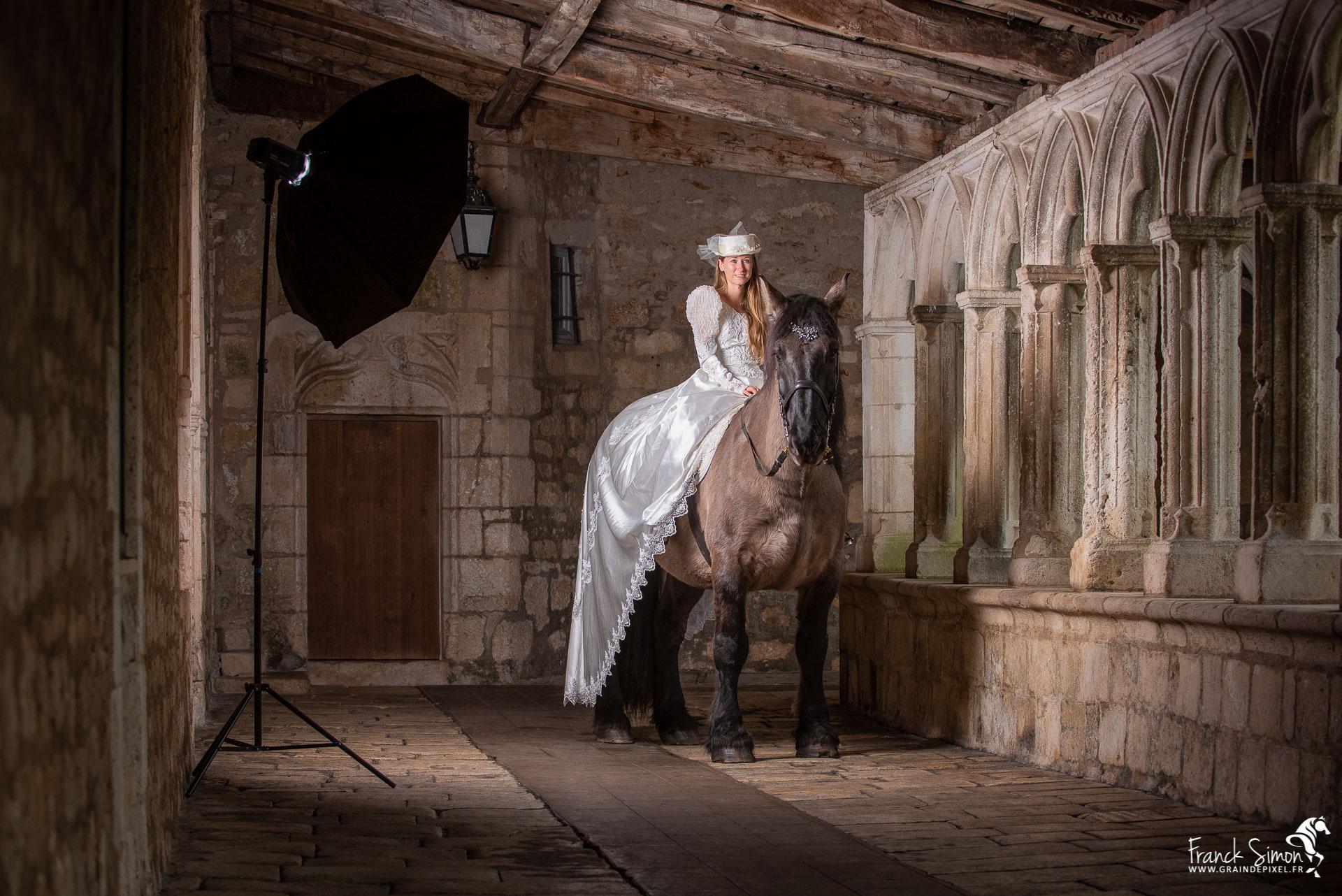 Un Cloitre, un cheval une histoire