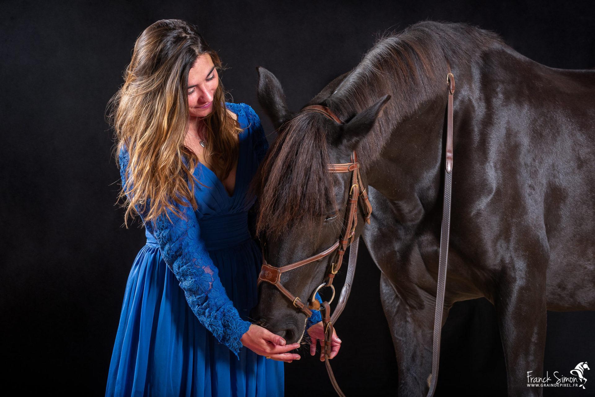 Valentine et ses chevaux