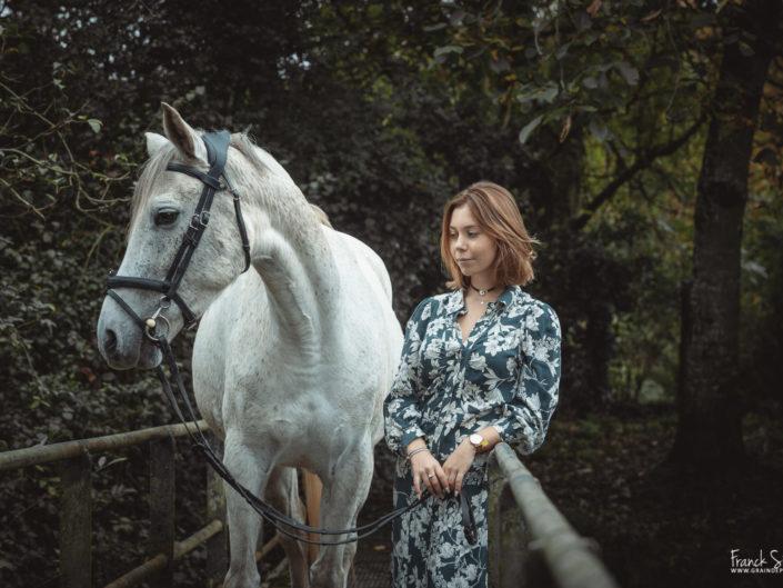 Cindy et Vikki, à Lizonne Equitation