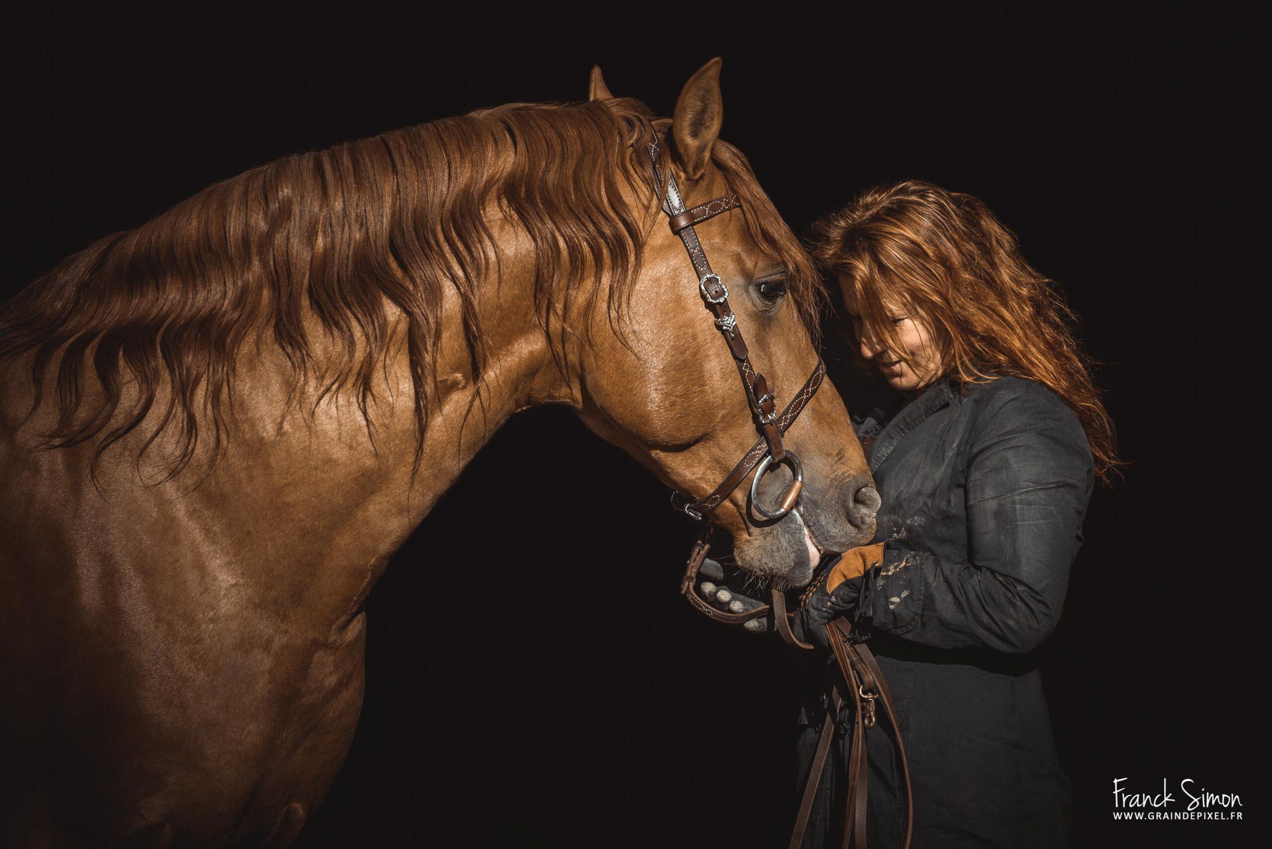 fond-noir-photo-finale - grain de pixel- photographe équestre et animalier - charente - nouvelle aquitaine