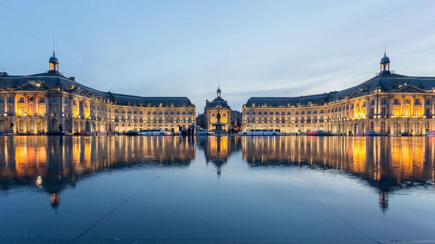 Miroir d_eau - ville de bordeaux©Steve Le Clech Photos